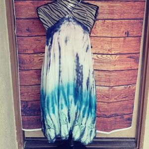 NWT Young fabulous & broke YFB the die dress sz L